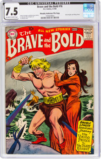 The Brave and the Bold #16 Murphy Anderson File Copy (DC, 1958) CGC VF- 7.5 Off-white to white pages
