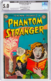 The Phantom Stranger #4 Murphy Anderson File Copy (DC, 1953) CGC VG/FN 5.0 Cream to off-white pages