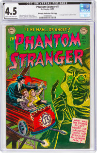 The Phantom Stranger #5 Murphy Anderson File Copy (DC, 1953) CGC VG+ 4.5 Cream to off-white pages