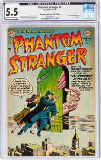 The Phantom Stranger #6 Murphy Anderson File Copy (DC, 1953) CGC FN- 5.5 Cream to off-white pages