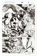 Original Comic Art:Panel Pages, Geof Isherwood Namor, the Sub-Mariner #54 Story Page 13 Original Art (Marvel Comics, 1994)....
