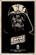 "Movie Posters:Science Fiction, The Empire Strikes Back (Killian Enterprises, R-1990). Rolled, Very Fine. 10th Anniversary Gold Mylar One Sheet (27"" X 41"")...."