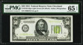 Fr. 2102-D $50 1934 LGS Federal Reserve Note. PMG Gem Uncirculated 65 EPQ