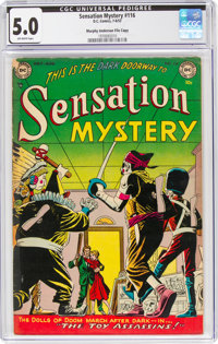 Sensation Mystery #116 Murphy Anderson File Copy (DC, 1953) CGC VG/FN 5.0 Off-white pages