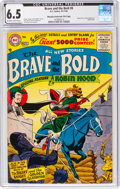 Silver Age (1956-1969):Adventure, The Brave and the Bold #8 Murphy Anderson File Copy (DC, 1956) CGC FN+ 6.5 Off-white to white pages....