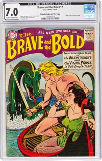 The Brave and the Bold #17 Murphy Anderson File Copy (DC, 1958) CGC FN/VF 7.0 Off-white to white pages
