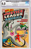 Silver Age (1956-1969):Superhero, The Brave and the Bold #28 Justice League of America - Murphy Anderson File Copy (DC, 1960) CGC VG 4.0 Off-white to white page...