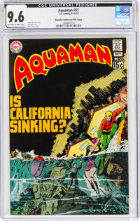 Aquaman #53 Murphy Anderson File Copy (DC, 1970) CGC NM+ 9.6 Off-white to white pages