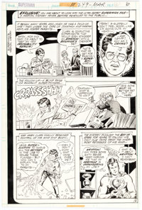 Curt Swan and Murphy Anderson Superman #249 Story Page 6 Original Art (DC Comics, 1971)