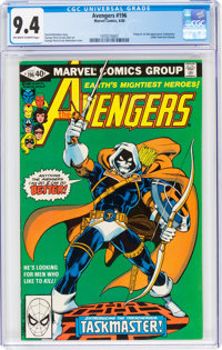 The Avengers #196 (Marvel, 1980) CGC NM 9.4 Off-white to white pages
