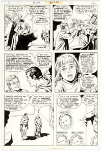 John Calnan and Murphy Anderson Action Comics #412 Story Page 5 Original Art (No DC Comics, 1972)