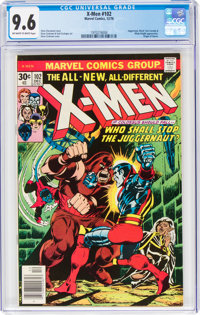 X-Men #102 (Marvel, 1976) CGC NM+ 9.6 Off-white to white pages