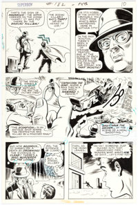 Bob Brown and Murphy Anderson Superboy #182 Story Page 9 Original Art (DC Comics, 1972)