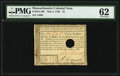 Colonial Notes:Massachusetts, Massachusetts May 5, 1780 $3 PMG Uncirculated 62.. ...