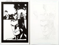 Patrick Gleason and Mick Gray Batman and Robin #34 Story Page 2 Original Art Group of 2 (DC, 2014).... (Total: 2 Origina...