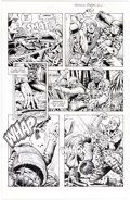 Original Comic Art:Panel Pages, Don Lomax Vietnam Journal #14 Story Page 23 Original Art (Apple Comics, 1990). ...
