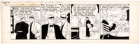 Chester Gould Dick Tracy Daily Comic Strip Original Art dated 9-25-45 (Chicago Tribute Syndi