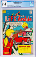 Bronze Age (1970-1979):Humor, Life With Archie #120 (Archie, 1972) CGC NM 9.4 Off-white to white pages....