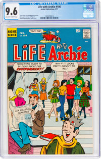 Life With Archie #106 (Archie, 1971) CGC NM+ 9.6 Off-white to white pages