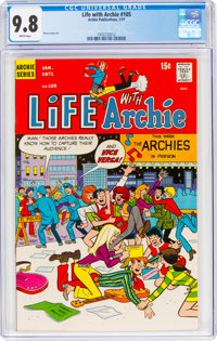 Life With Archie #105 (Archie, 1971) CGC NM/MT 9.8 White pages