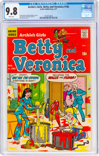 Archie's Girls, Betty and Veronica #182 (Archie, 1971) CGC NM/MT 9.8 White pages