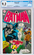 Bronze Age (1970-1979):Superhero, Batman #222 (DC, 1970) CGC NM- 9.2 White pages....
