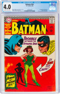 Silver Age (1956-1969):Superhero, Batman #181 (DC, 1966) CGC VG 4.0 Off-white to white pages....