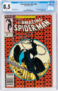 The Amazing Spider-Man #300 (Marvel, 1988) CGC VF+ 8.5 White pages