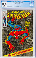 Bronze Age (1970-1979):Superhero, The Amazing Spider-Man #100 (Marvel, 1971) CGC NM 9.4 White pages....