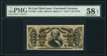 Fractional Currency:Third Issue, Fr. 1325 50¢ Third Issue Spinner PMG Choice About Unc 58 EPQ.. ...
