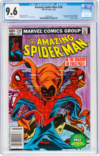 The Amazing Spider-Man #238 (Marvel, 1983) CGC NM+ 9.6 White pages