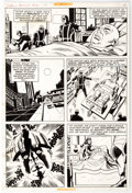 Original Comic Art:Panel Pages, Sal Buscema and John Verpoorten Captain America #147 Story Page 10 Original Art (Marvel, 1972)....