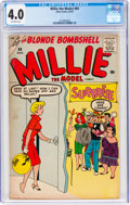 Silver Age (1956-1969):Humor, Millie the Model #89 (Atlas, 1959) CGC VG 4.0 Off-white pages....