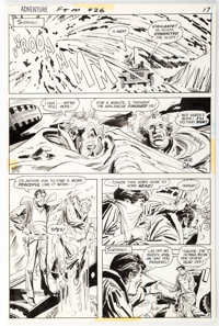 Mike Sekowsky and Dick Giordano Adventure Comics #426 Story Page 5 Original Art (DC, 1973)