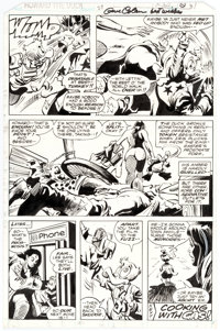 Gene Colan and Klaus Janson Howard the Duck #27 Story Page 31 Original Art (Marvel Comics, 1978)