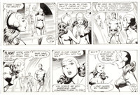 Dan Barry Flash Gordon Daily Comic Strip Original Art Group of 2 (King Features Syndicate, 1988).... (Total: 2 Original...