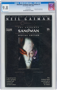 Absolute Sandman Special Edition #1 (DC/Vertigo, 2006) CGC NM/MT 9.8 White pages