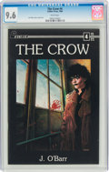 Modern Age (1980-Present):Alternative/Underground, The Crow #4 (Caliber Press, 1989) CGC NM+ 9.6 White pages....