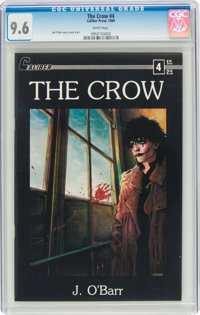 The Crow #4 (Caliber Press, 1989) CGC NM+ 9.6 White pages