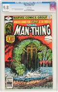 Bronze Age (1970-1979):Superhero, Man-Thing (second series) V2#1 (Marvel, 1979) CGC NM/MT 9.8 White pages....