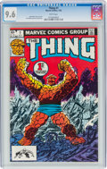 Modern Age (1980-Present):Superhero, The Thing #1 (Marvel, 1983) CGC NM+ 9.6 White pages....