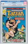 Bronze Age (1970-1979):Adventure, Tarzan #1 (Marvel, 1977) CGC NM/MT 9.8 Off-white to white pages....