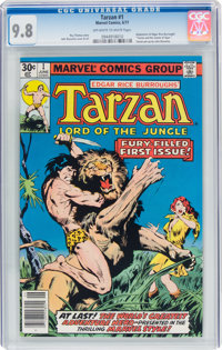 Tarzan #1 (Marvel, 1977) CGC NM/MT 9.8 Off-white to white pages