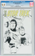 Modern Age (1980-Present):Science Fiction, Star Trek: Year Four #1 Retailer Incentive Edition (IDW Publishing, 2007) CGC MT 9.9 White pages....