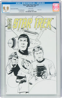 Star Trek: Year Four #1 Retailer Incentive Edition (IDW Publishing, 2007) CGC MT 9.9 White pages