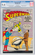 Silver Age (1956-1969):Superhero, Superman #157 (DC, 1962) CGC NM 9.4 Off-white pages....