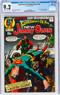 Superman's Pal Jimmy Olsen #134 (DC, 1970) CGC NM- 9.2 Off-white to white pages