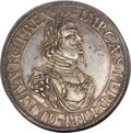 German States:Augsburg, German States: Augsburg. Free City Taler 1642 MS63 NGC,...