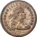 Early Quarters, 1796 25C B-2, R.3, AU53 PCGS. Cracked Obverse....