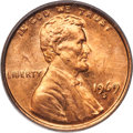 Lincoln Cents, 1969-S 1C Doubled Die Obverse, FS-101, MS63 Red PCGS. CAC....
